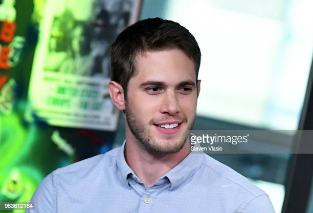 Actor Blake Jenner attends the Build Series to discuss the new film American Animals at Build Studio on May 29 2018 in New York City