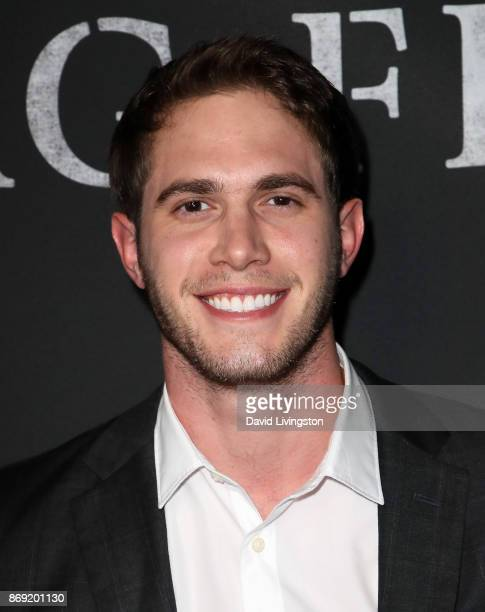 Actor Blake Jenner attends the premiere of Amazon's 'Last Flag Flying' at the DGA Theater on November 1 2017 in Los Angeles California