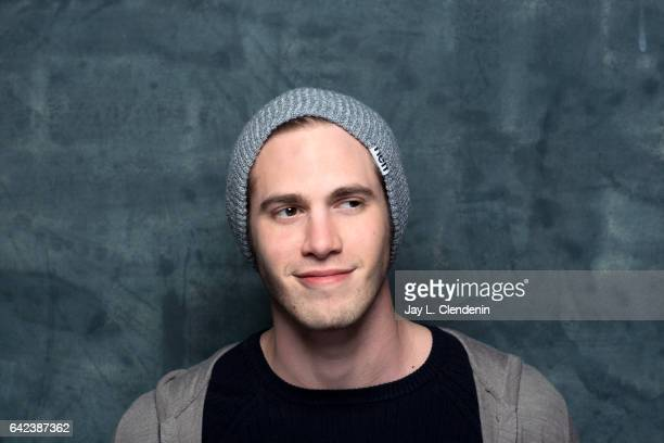 Actor Blake Jenner from the film Sidney is photographed at the 2017 Sundance Film Festival for Los Angeles Times on January 23 2017 in Park City Utah...