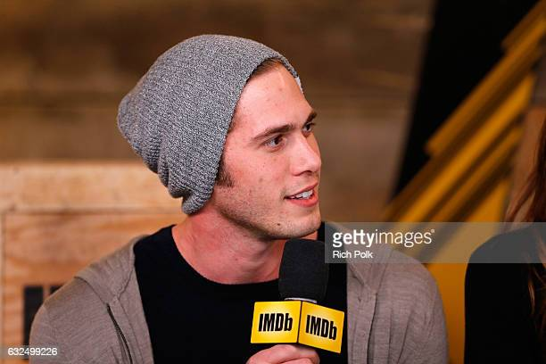 Actor Blake Jenner of 'Sidney Hall' attends The IMDb Studio featuring the Filmmaker Discovery Lounge presented by Amazon Video Direct Day Four during...