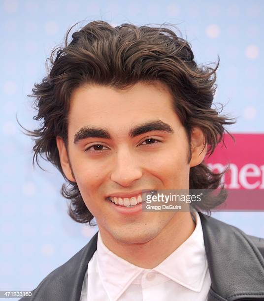 Actor Blake Michael arrives at the 2015 Radio Disney Music Awards at Nokia Theatre LA Live on April 25 2015 in Los Angeles California