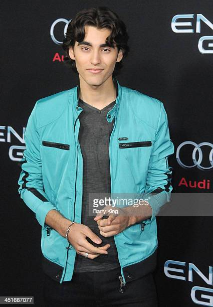 Actor Blake Michael arrives at the Los Angeles Premiere 'Ender's Game' on October 28 2013 at TCL Chinese Theatre in Hollywood California