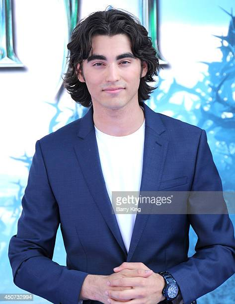 Actor Blake Michael arrives at the Los Angeles premiere of Maleficent on May 28 2014 at the El Capitan Theatre in Hollywood California