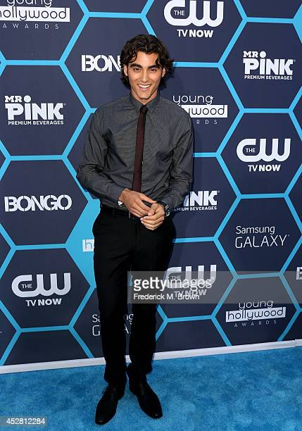 Actor Blake Michael attends the 2014 Young Hollywood Awards brought to you by Samsung Galaxy at The Wiltern on July 27 2014 in Los Angeles California