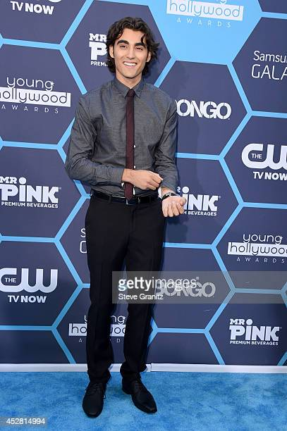 Actor Blake Michael attends the 2014 Young Hollywood Awards held at The Wiltern on July 27 2014 in Los Angeles California