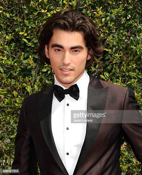Actor Blake Michael attends the 2015 Creative Arts Emmy Awards at Microsoft Theater on September 12 2015 in Los Angeles California