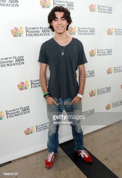 Actor Blake Michael attends the Elizabeth Glaser Pediatric AIDS Foundation's 24th Annual A Time For Heroes at Century Park on June 2 2013 in Los...