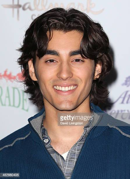 Actor Blake Michael attends the Hollywood Christmas Parade benefiting the Toys for Tots Foundation on December 1 2013 in Hollywood California