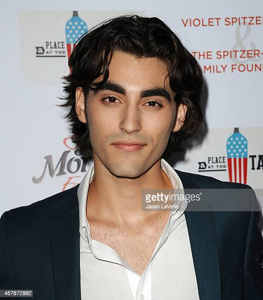 Actor Blake Michael attends the No Kid Hungry campaign fundraising dinner at Ron Burkle's Green Acres Estate on October 25 2014 in Beverly Hills...
