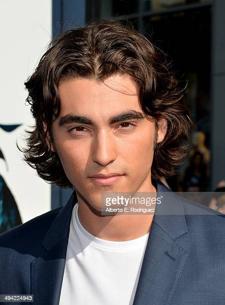 Actor Blake Michael attends the World Premiere of Disney's Maleficent starring Angelina Jolie at the El Capitan Theatre on May 28 2014 in Hollywood...
