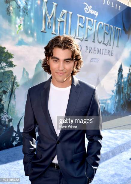 Actor Blake Michaelattends the World Premiere of Disney's Maleficent at the El Capitan Theatre on May 28 2014 in Hollywood California