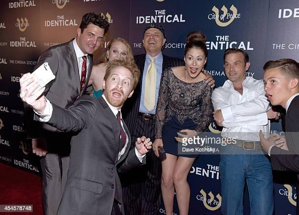 Actor Blake Rayne actress Erin Cottrell actor Seth Green actor Joe Pantoliano actress Amanda Crew singer Waylon Payne and actor Noah Urrea attend...