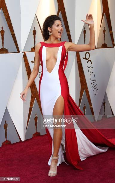 Actor Blanca Blanco attends the 90th Annual Academy Awards at Hollywood Highland Center on March 4 2018 in Hollywood California