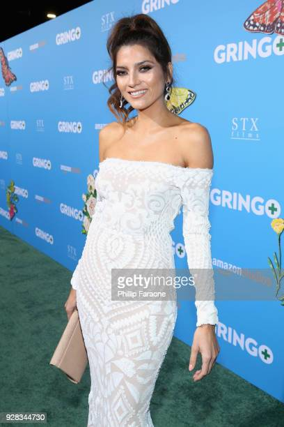 Actor Blanca Blanco attends the world premiere of 'Gringo' from Amazon Studios and STX Films at Regal LA Live Stadium 14 on March 6 2018 in Los...