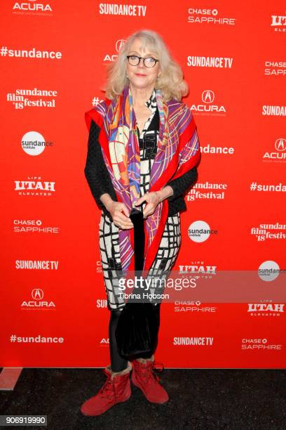 Actor Blythe Danner attends the Volunteer Screening Of Hearts Beat Loud Premiere during the 2018 Sundance Film Festival at Park City Library on...