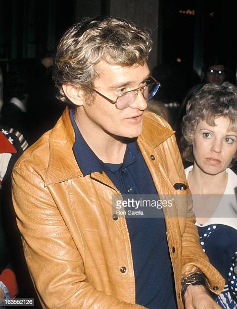Actor Bo Hopkins attends the Benefit Dinner to Raise Funds for James Stacy's Medical Expenses from a Motorcycle Accident on March 24 1974 at Century...
