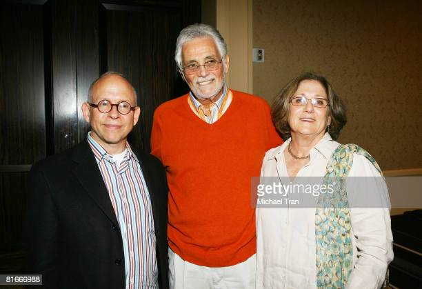 Actor Bob Balaban Actor David Hedison and wife Bridget Hedison attend the reception to campaign for the new GI Bill held at the Beverly Hilton hotel...