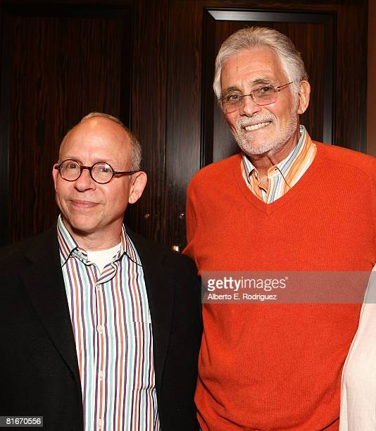 Actor Bob Balaban and actor David Hedison attend the Campaign for a New GI Bill hosted by the Student Veterans of America at the Beverliy Hilton...