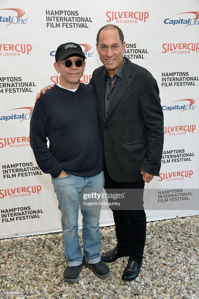 Actor Bob Balaban (L) and Hamptons International Film Festival Board of Directors Chairman Stuart Match Suna attend the 21st Annual Hamptons International Film Festival on October 12, 2013 in East Hampton, New York.