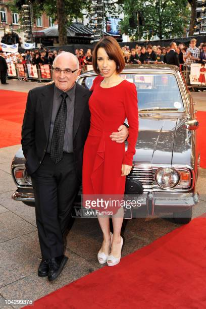 Actor Bob Hoskins and actress Sally Hawkins attend the Made in Dagenham world premiere at the Odeon Leicester Square on September 20 2010 in London...