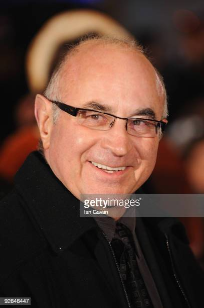 Actor Bob Hoskins arrives for the World Film Premiere of Disney's 'A Christmas Carol' at the Odeon Leicester Square on November 3 2009 in London...