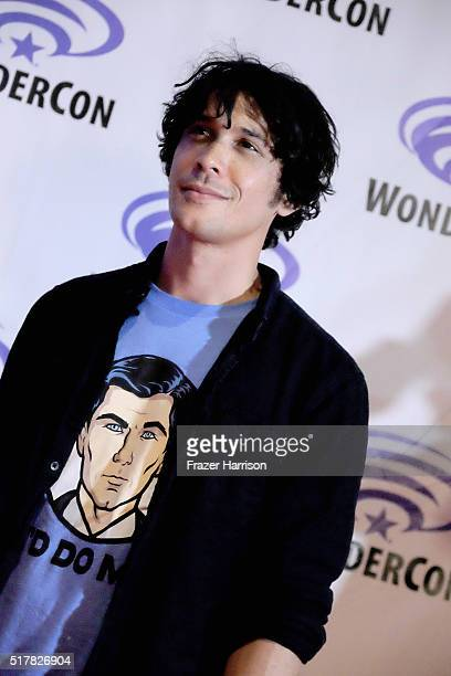 Actor Bob Morley attends The 100 panel at WonderCon at Los Angeles Convention Center on March 27 2016 in Los Angeles California