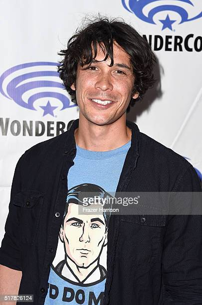 Actor Bob Morley attendsThe 100 panel at WonderCon at Los Angeles Convention Center on March 27 2016 in Los Angeles California
