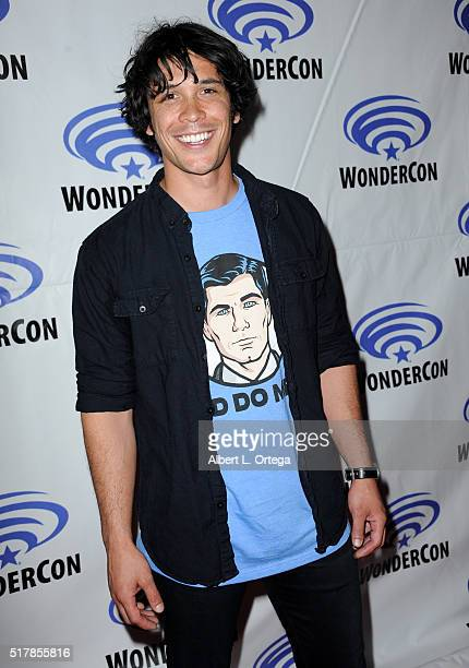 Actor Bob Morley of 'The 100' on Day 3 of WonderCon 2016 held at Los Angeles Convention Center on March 27 2016 in Los Angeles California