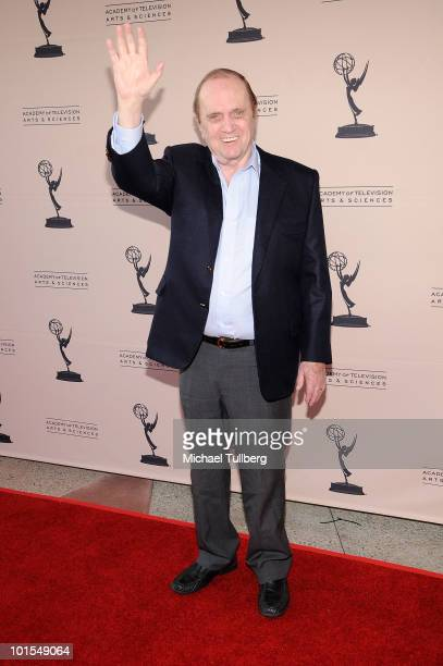 Actor Bob Newhart arrives at the Academy Of Television's 'Bob Newhart Celebrates 50 Years In Show Business' event at the Leonard H Goldenson Theatre...