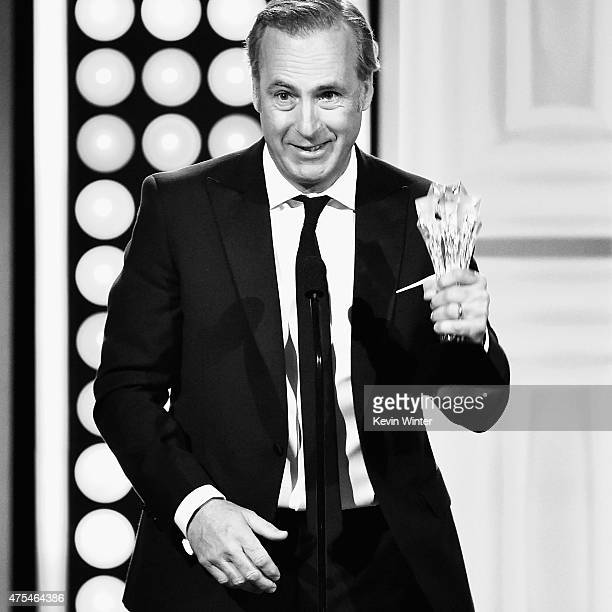 Actor Bob Odenkirk accepts the Best Actor in a Drama Series award for 'Better Call Saul' onstage at the 5th Annual Critics' Choice Television Awards...