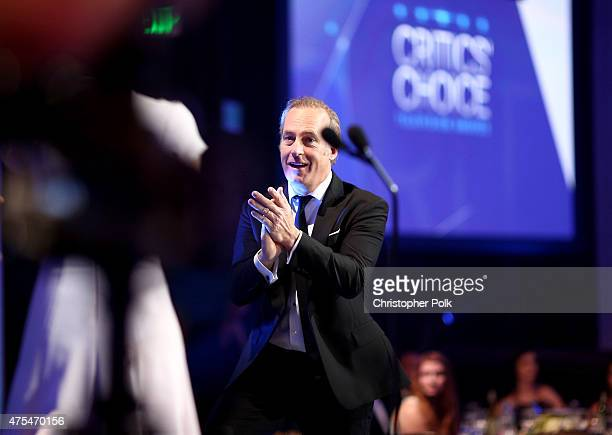 Actor Bob Odenkirk applauds onstage at the 5th Annual Critics' Choice Television Awards at The Beverly Hilton Hotel on May 31 2015 in Beverly Hills...