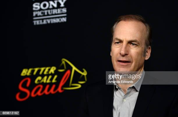 Actor Bob Odenkirk arrives at the premiere of AMC's 'Better Call Saul' Season 3 at Arclight Cinemas Culver City on March 28 2017 in Culver City...