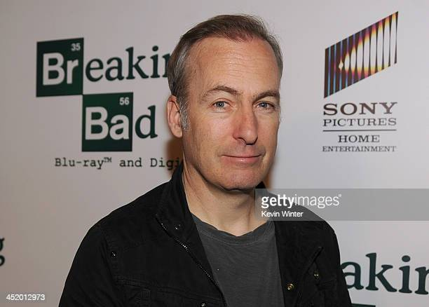 Actor Bob Odenkirk arrives at the screening of 'No Half Measures Creating The Final Season Of Breaking Bad' DVD Launch at Pacific Theatres at the...