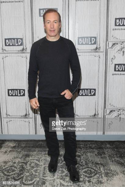 Actor Bob Odenkirk attends Build Series to discuss his show 'Better Call Saul' at Build Studio on August 15 2017 in New York City