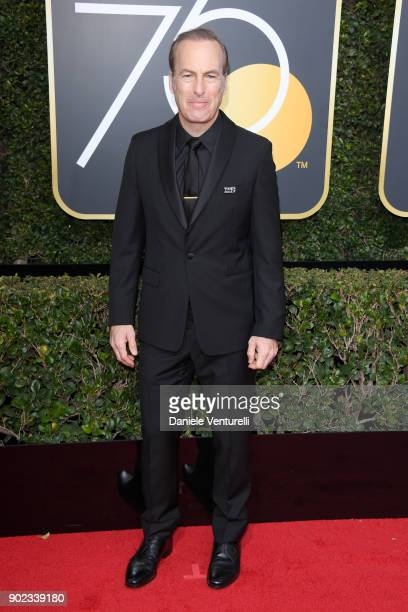 Actor Bob Odenkirk attends The 75th Annual Golden Globe Awards at The Beverly Hilton Hotel on January 7 2018 in Beverly Hills California