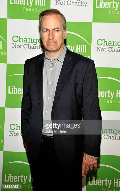 Actor Bob Odenkirk attends the Liberty Hill's Upton Sinclair Awards dinner at The Beverly Hilton Hotel on April 22 2014 in Beverly Hills California