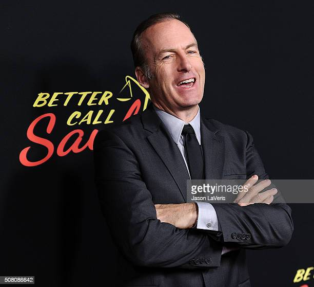 """Actor Bob Odenkirk attends the Season 2 premiere of """"Better Call Saul"""" at ArcLight Cinemas on February 2, 2016 in Culver City, California."""