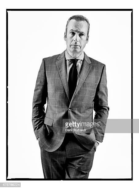 Actor Bob Odenkirk is photographed for Esquire Magazine on February 23 2015 in Los Angeles California