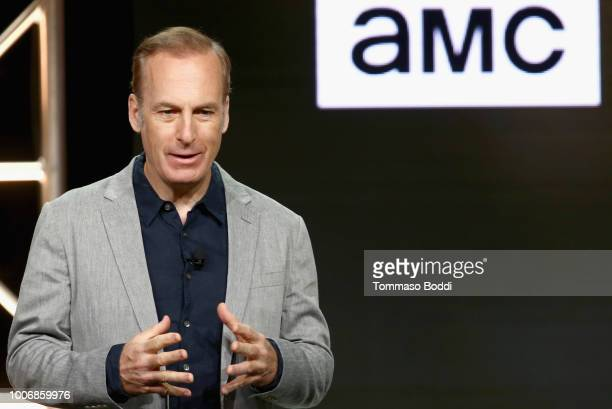 Actor Bob Odenkirk of 'Better Call Saul' onstage during the AMC Networks portion of the Summer 2018 TCA Press Tour at The Beverly Hilton Hotel on...