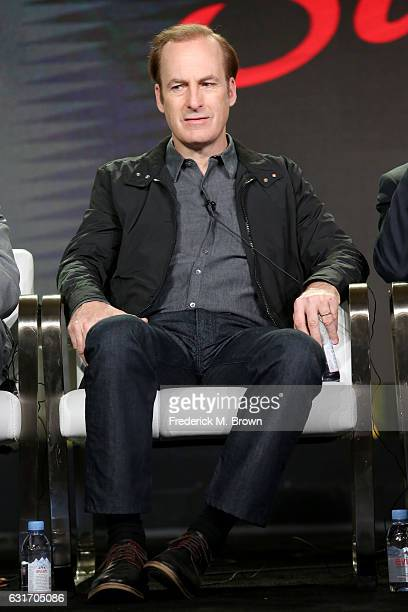 Actor Bob Odenkirk of the series 'Better Call Saul' speaks onstage during the AMC portion of the 2017 Winter Television Critics Association Press...