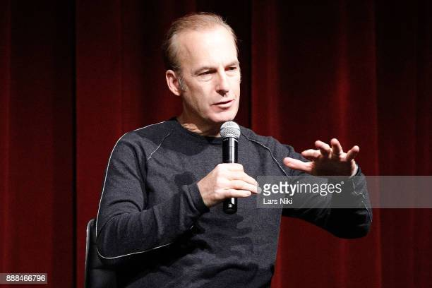 Actor Bob Odenkirk on stage during The Academy of Motion Picture Arts Sciences Official Academy Screening of The Post at the MOMA Celeste Bartos...