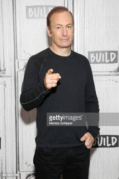 Actor Bob Odenkirk visits Build Series to discuss his show 'Better Call Saul' at Build Studio on August 15 2017 in New York City
