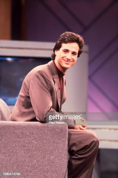 Actor Bob Saget appears on the Oprah Winfrey Show Chicago Illinois April 24 1990