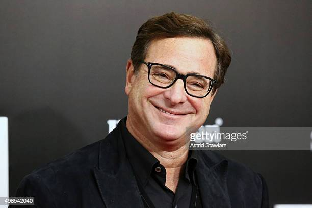Actor Bob Saget attends The Big Short New York premiere at Ziegfeld Theater on November 23 2015 in New York City