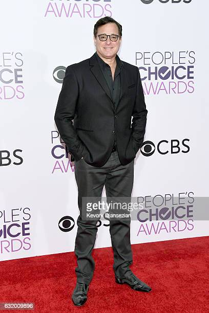 Actor Bob Saget attends the People's Choice Awards 2017 at Microsoft Theater on January 18 2017 in Los Angeles California
