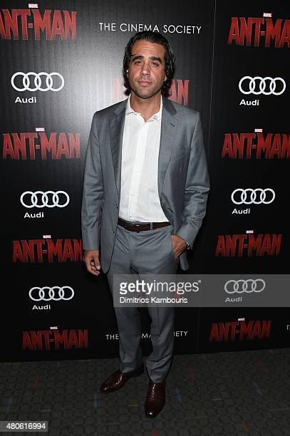 Actor Bobby Cannavale attends Marvel's screening of AntMan hosted by The Cinema Society and Audi at SVA Theater on July 13 2015 in New York City