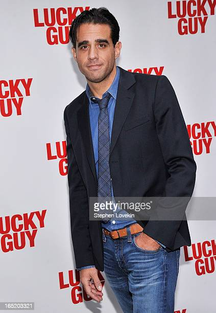 Actor Bobby Cannavale attends the Lucky Guy Broadway Opening Night at The Broadhurst Theatre on April 1 2013 in New York City