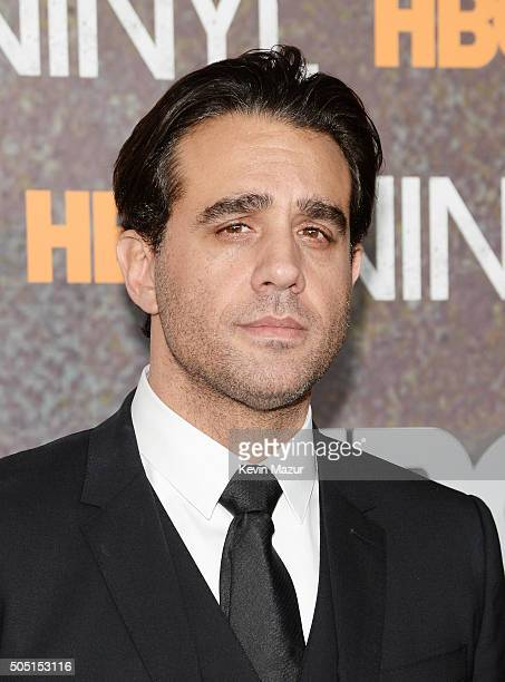 Actor Bobby Cannavale attends the New York premiere of 'Vinyl' at Ziegfeld Theatre on January 15 2016 in New York City