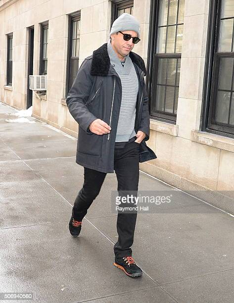 Actor Bobby Cannavale is seen walking in Soho on January 26 2016 in New York City
