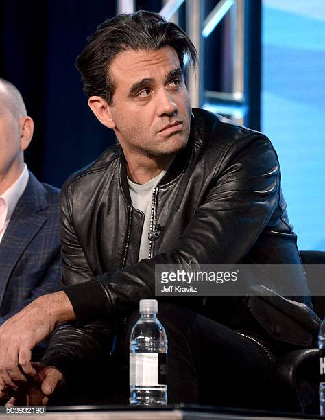 Actor Bobby Cannavale of 'Vinyl' speaks onstage during the HBO Winter 2016 TCA Panel at Langham Hotel on January 7 2016 in Pasadena California